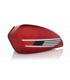 Бак топливный Alpha красный (крыло)