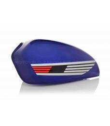 Бак топливный Alpha синий (крыло)