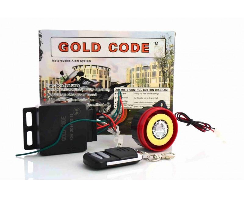 """Сигнализация  один брелок  """"Gold code"""""""