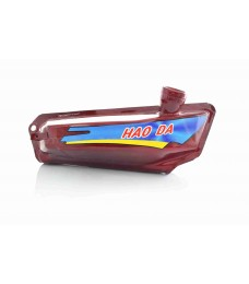 Бак топливный Delta красный (HAO DA)