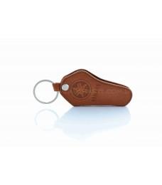 Чехол для ключей YAMAHA (кожа, коричневый)