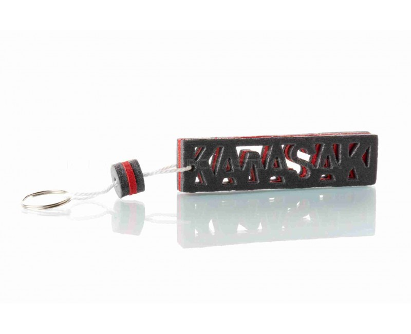 "Брелок KAWASAKI ""SALO"" (каучук, красный)"