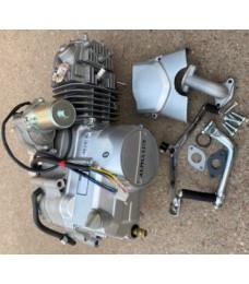 Двигатель DELTA , ALFA , ACTIVE -125 ( полуавтомат) алюминиевый цилиндр