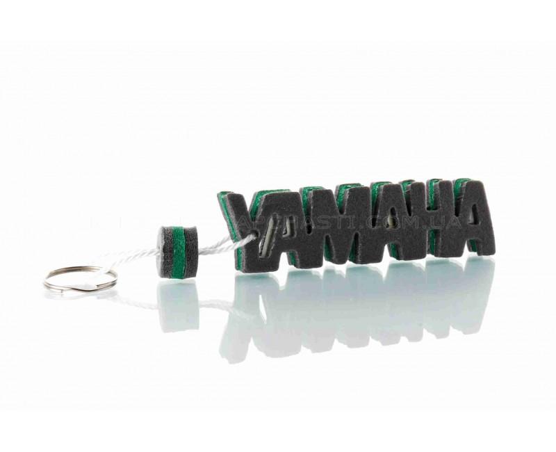 """Брелок  YAMAHA  """"SALO""""  (каучук, зеленый)"""
