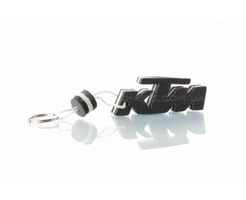 """Брелок  KTM  """"SALO""""  (каучук, белый)"""