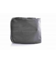 """Чехол сиденья ЯВА 350 (634) 6V темно-серый, серебристый кант """"JD""""_"""