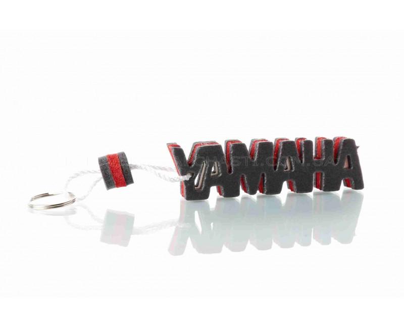 """Брелок  YAMAHA  """"SALO""""  (каучук, красный)"""