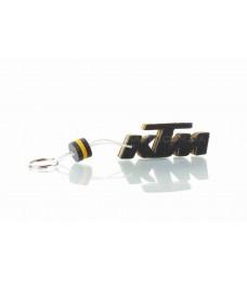 """Брелок  KTM  """"SALO""""  (каучук, желтый)"""