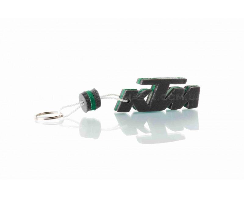 "Брелок  KTM  ""SALO""  (каучук, зеленый)"