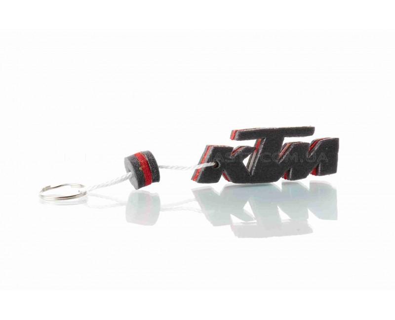 """Брелок  KTM  """"SALO""""  (каучук, красный)"""
